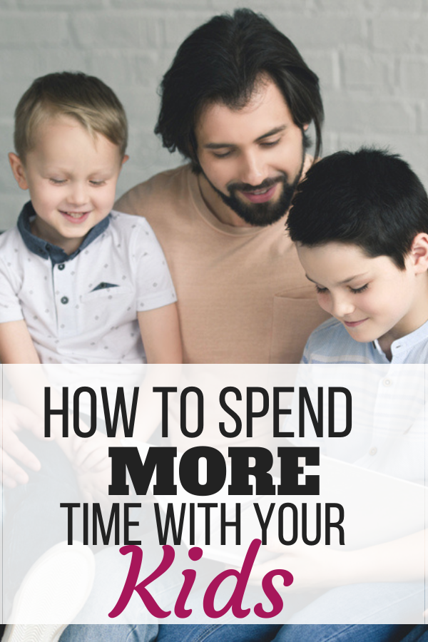 We all wish there were more hours in the day, especially when it comes to spending time with our kids. The good news is there are simple things you can do that will allow you to have more family time. Whether you cook meals together or create a homework station, you'll love these tips for spending more time with your kids.